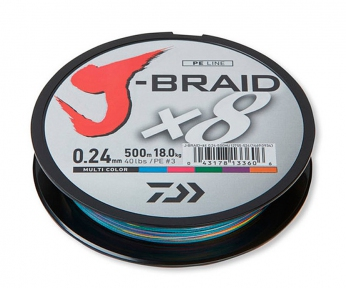 Шнур Daiwa J-Braid Multicolor 150м